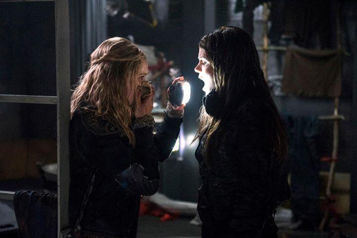 the 100 1x10 Clarke Octavia