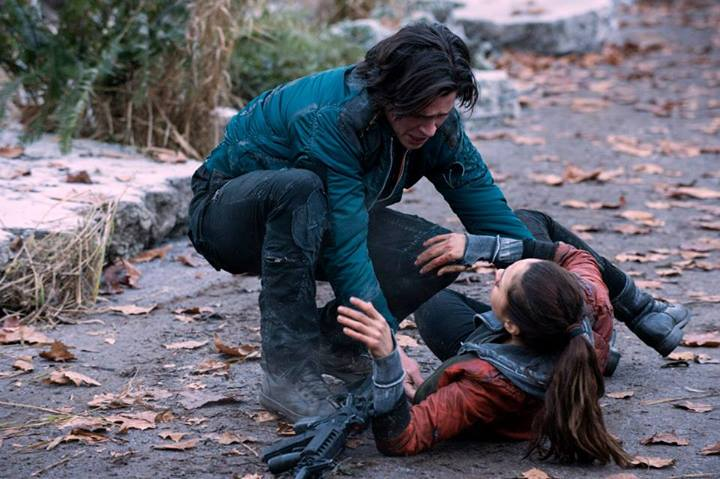 the 100 1x10 Finn Et Raven