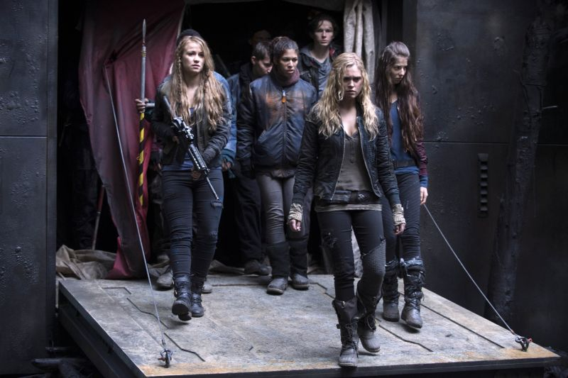 The 100 - photo 1x13 Clarke + groupe