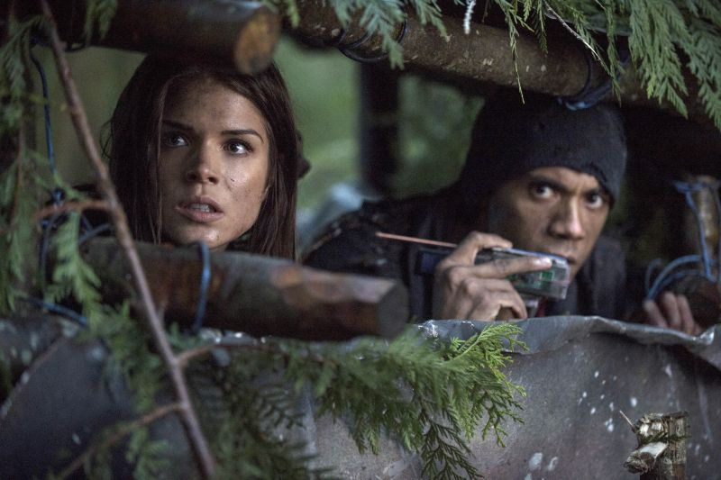 The 100 - photo 1x13 Octavia camp