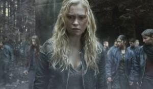 the 100 1x13 Clarke season finale