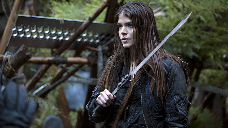 spoilers saison 2 octavia et les grounders the 100 france. Black Bedroom Furniture Sets. Home Design Ideas
