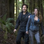 the-100-saison 2 2x01  Kane et Abby
