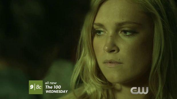 the 100 2x02 Clarke
