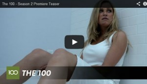 the 100 saison 2 Clarke the 48