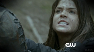 the 100 saison 2 episode 1 the 48 Octavia