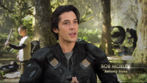 the 100 saison 1 dvd Bellamy