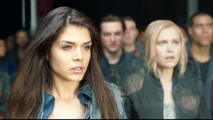 the 100 saison 1 dvd octavia Clarke