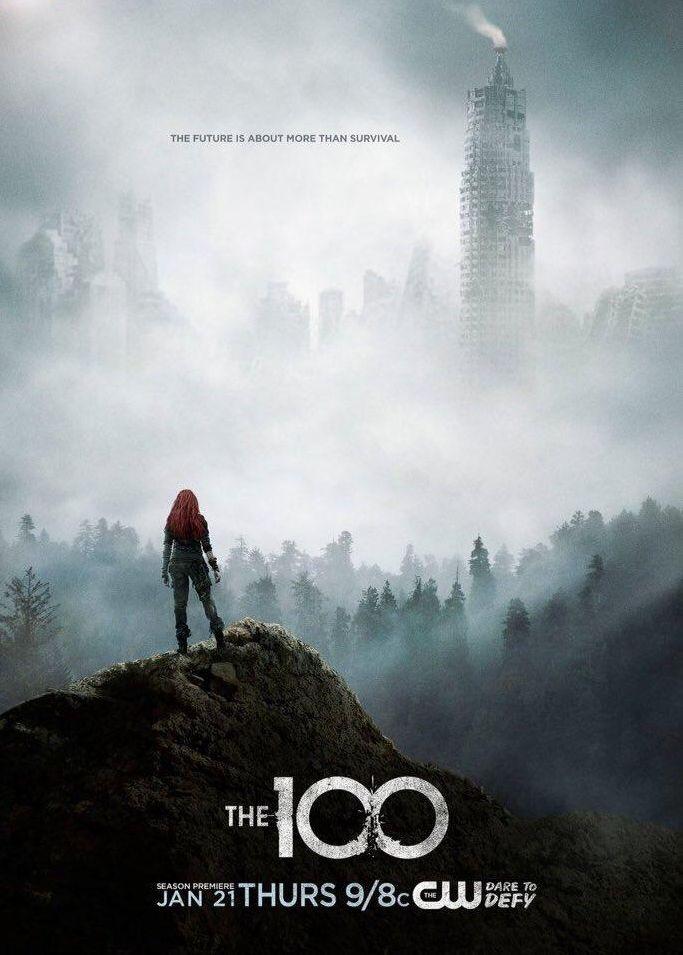 affiche the 100 saison 3