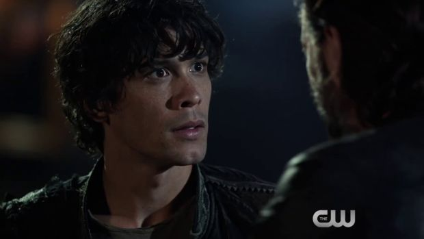 the 100 saison 3 bellamy