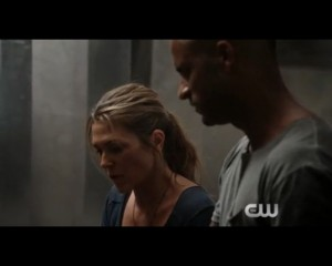 the 100 3x02 Abby et Lincoln