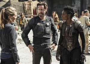 the 100 3x03 Kane Abby Indra