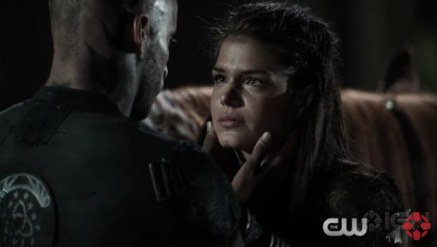 the 100 saison 3 Lincoln et octavia