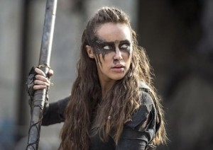 the-100--episode-3x04 Lexa
