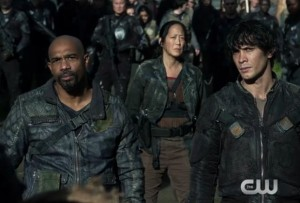 the 100 3x08 Pike et Bellamy