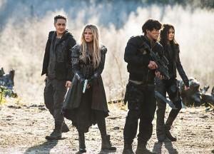 The 100 - Episode 3.12 - Demons team Clarke