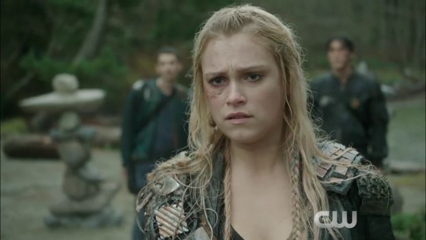 the 100 3x13 Clarke - join or Die