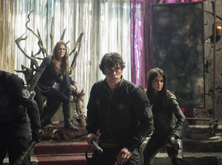 the 100 3x16 bellamy octavia