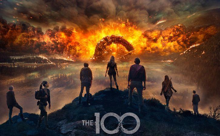 The 100 - Season 4 - Poster
