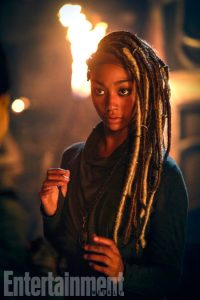 "The 100 -- ""The Four Horsemen"" -- Image HU403b_0101-- Pictured: Tati Gabrielle as Gaia -- Credit: Bettina Strauss/The CW -- © 2017 The CW Network, LLC. All Rights Reserved"